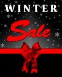 Zimy sprzedaży sztandar Zdjęcia Royalty Free
