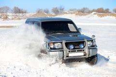 Zimy SUV przejażdżka Obraz Stock
