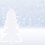 Zimy tło Zdjęcie Stock