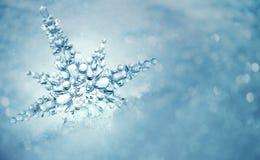 Zimy tło Zdjęcia Royalty Free