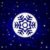 Zimy tło Obraz Royalty Free