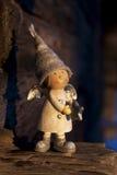 Zimy wciąż życie z gnomem Obrazy Stock