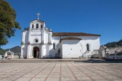 Zinacantan church, Chiapas, Mexico Stock Photography