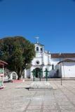 Zinacantan church, Chiapas, Mexico Stock Photography