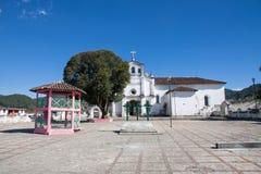 Zinacantan church, Chiapas, Mexico Royalty Free Stock Image