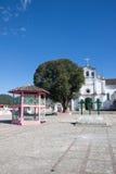 Zinacantan church, Chiapas, Mexico Stock Photo