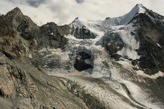 Zinal Glacier Stock Photos