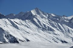 The Zinal Rothorn Stock Photo