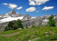 Zinalrothorn - Swiss alps Royalty Free Stock Photography