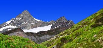 Zinalrothorn - Swiss alps Stock Photo