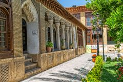 Zinat ol Molk House inner courtyard Stock Photo
