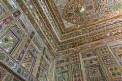 Zinat ol Molk House main room angle decoration Royalty Free Stock Photos