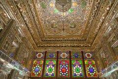 Zinat ol Molk House main room interior Stock Photo