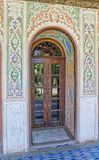 Zinat ol Molk House room door Royalty Free Stock Photography