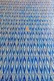 Zinat ol Molk House tiles closeup Stock Photos