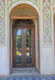 Zinat ol Molk House wooden room door Royalty Free Stock Photography