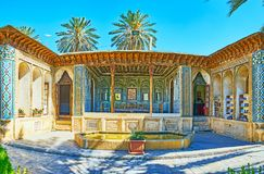 Zinat Ol-Molk museum, Shiraz, Iran Arkivfoto
