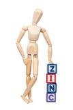 zinc Arkivbild