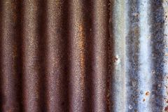 Zinc background Royalty Free Stock Photography