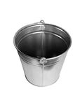 Zinc bucket isolated Stock Photo