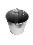 Zinc bucket isolated Stock Photo