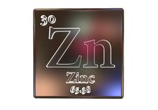 Free Zinc Chemical Element Royalty Free Stock Photography - 107909307