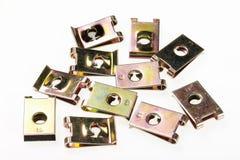Zinc Clip bolt Royalty Free Stock Image