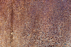Zinc decay pattern old rust Stock Image