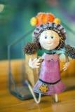 Zinc doll stock image