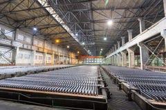 Zinc electrowinning workshop Stock Photo