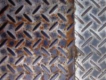 Zinc en acier de rouille Photographie stock libre de droits