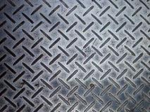 Zinc en acier de rouille Images libres de droits