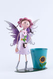Zinc fairy dolls and beautifu Stock Photos