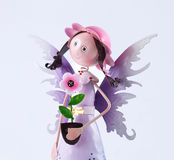 Zinc fairy dolls and beautifu Stock Photo