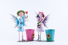 Zinc fairy dolls Royalty Free Stock Photography
