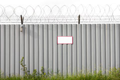 Zinc Fence Barb Royalty Free Stock Image