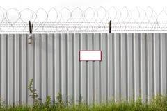 Zinc Fence Barb Royalty Free Stock Image