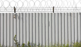 Zinc Fence Barb poster style Stock Photography