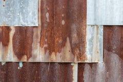 Zinc fence. Royalty Free Stock Images