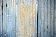 Zinc fence Stock Photos