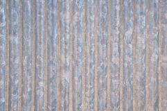 Zinc galvanized corrugated pattern Stock Images