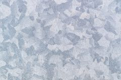 Zinc galvanized grunge metal texture may use as background, grey background Royalty Free Stock Photo