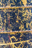 Zinc galvanized grunge metal texture Stock Images