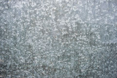 Zinc galvanized steel surface. Texture of galvanized sheet metal with small tsarapynamy Royalty Free Stock Image