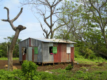 Zinc house Corn Island Nicaragua Royalty Free Stock Photos