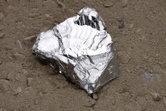 Zinc nugget Stock Images