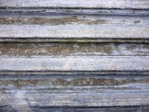 Zinc pavement as a background Royalty Free Stock Image