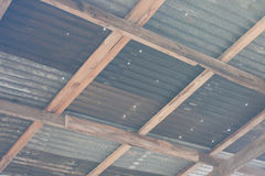 Zinc plate Royalty Free Stock Images