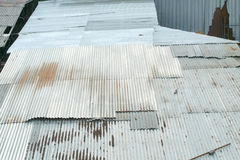 Zinc roof. Royalty Free Stock Photography