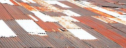 Zinc roof Stock Photos